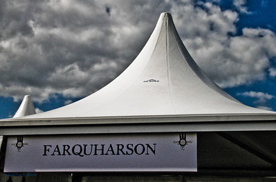 Clan Tent - Farquharson The Gathering 2009, Edinburgh