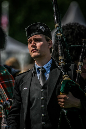 German Piper The Gathering 2009, Edinburgh