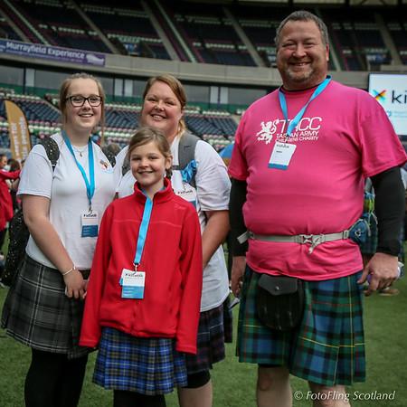 The 2016 Edinburgh Kiltwalk