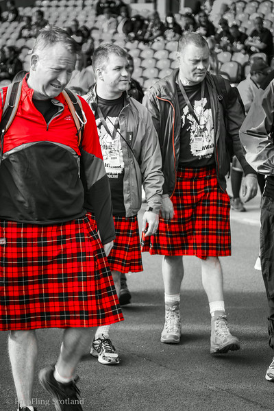 Red Kilties