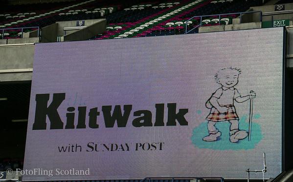 Kilt Walk Murrayfield