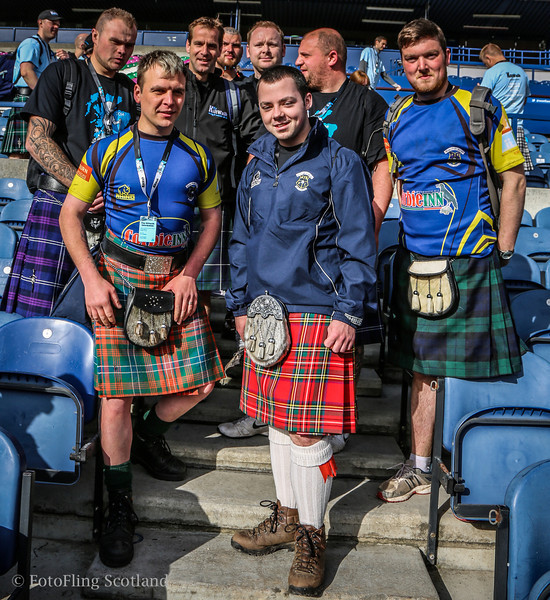 Edinburgh Kilt Walk 2014