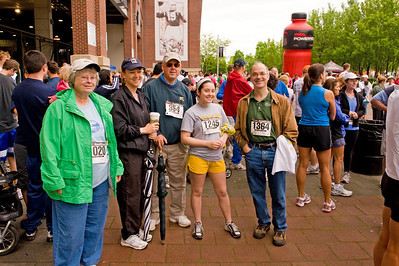 Ginny, Ann, Tom, Meredith & Fred - ready to race!