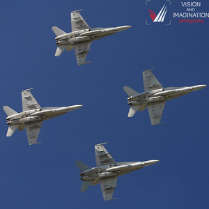 F/A-18 Hornet Formation