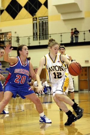 Avon v Hamilton SE - Girls Bsktball