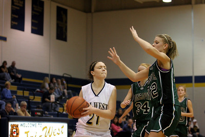 Tri-West V Monrovia Girls Basketball