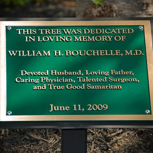 Bill's Tree Dedication at Good Samaritan