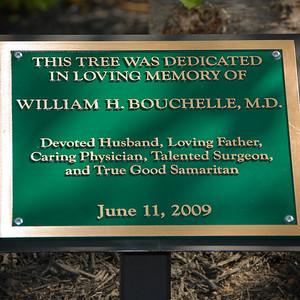 Bill's Tree Dedication at Good Samaritan