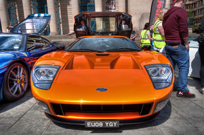 Ford-GT-Front-Sheffield-City-Hall-HDR-1