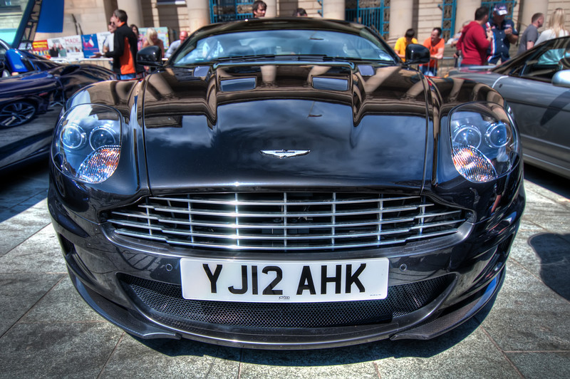 Aston-Martin-DBS-Front-Sheffield-City-Hall-HDR-2