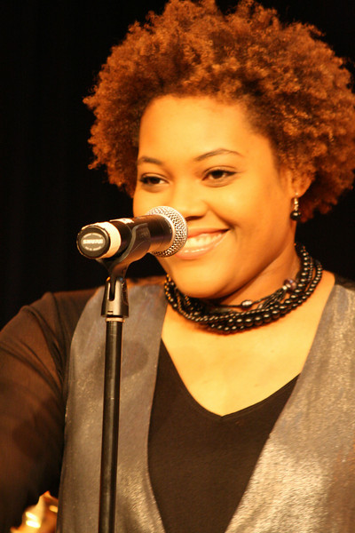Vocalist Christina Sims