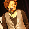 Vocalist Christina Sims, talented and beautiful!