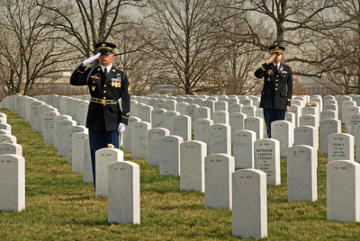 MG Harry J. Mier, Jr: Arlington Service Mar 15 2012