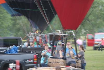 Ottumwa Hot Air Balloons 2015