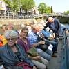 Barge trip in Leeuwarden.
