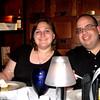 J and I enjoying the evening.