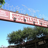 On Sunday, we drove over to the stockyards to watch the longhorn cattle drive.
