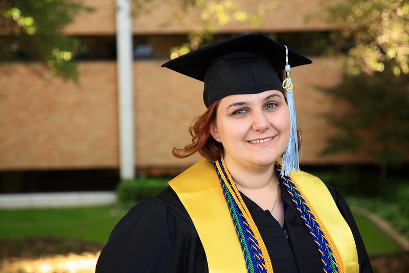 Looking forward to graduating.