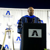 Ambassador Ron Kirk speaks at the graduation celebration.  What did I learn from him???  I need to travel!