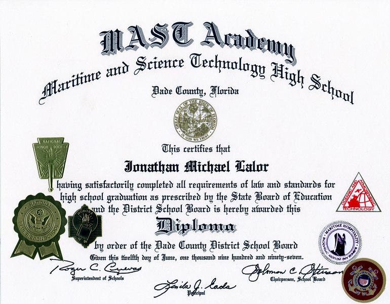 JML HS Diploma