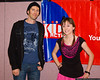 "Allisyn Ashley Arm of the Disney Channel's ""Sonny with a Chance"" with her father Steve at the Kids in Action Youth Conference."