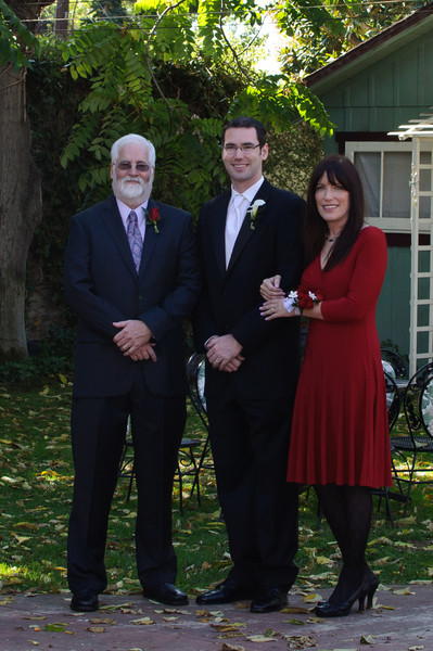 My dad, me and my mom