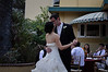 Kissing during our first dance