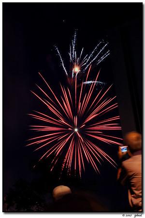 Fireworks - Decatur 4 Jul 07