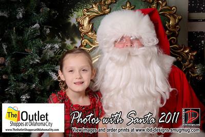 Outlet Shoppes at OKC Santa Photos 12-18-11