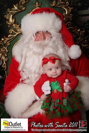 Outlet Shoppes at OKC Santa Photos 12-10-11