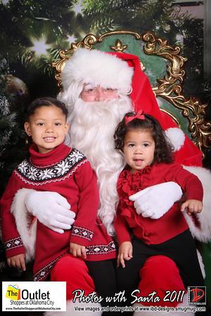 Outlet Shoppes at OKC Santa Photos 12-11-11
