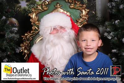 Outlet Shoppes at OKC Santa Photos 12-8-11