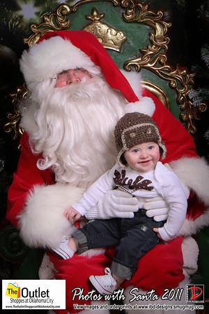 Outlet Shoppes at OKC Santa Photos 12-16-11