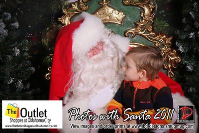 Outlet Shoppes at OKC Santa Photos 11-26-11