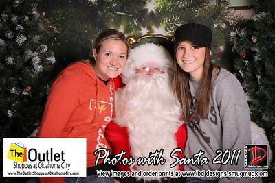 Outlet Shoppes at OKC Santa Photos 11-25-11