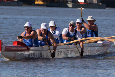 Brisbane River Challenge July2014