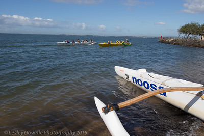 Clontarf Outrigger Race Day