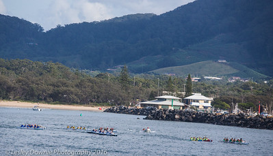 Outrigger Regatta Coffs Harbour March 2016