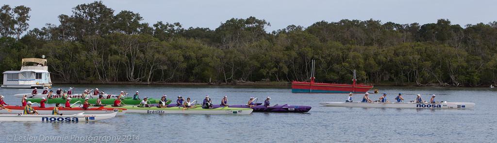 Noosa River Outrigger Race 2014