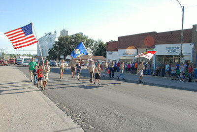 Overbrook Osage County Fair Parade, Aug. 16, 2014