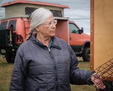 DIY trolley car inspired camper