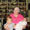 Sweetie with the new babies - Paul & Owen