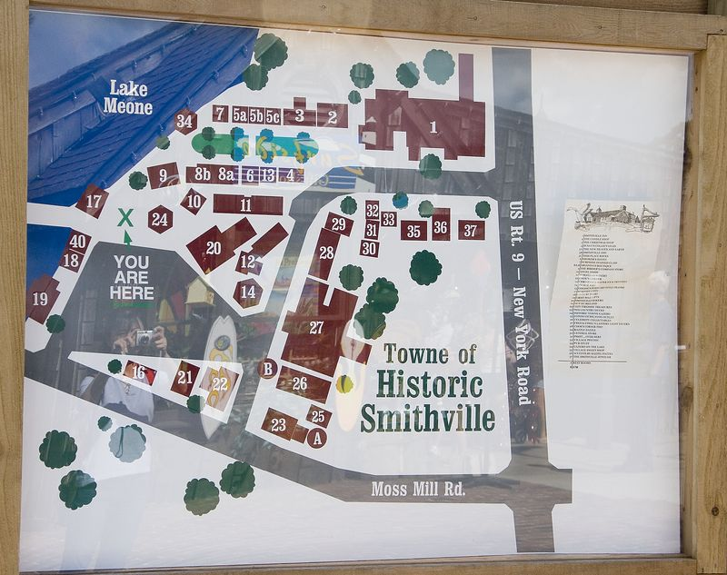 Our meet up point is the Smithville village. A nice shopping area.