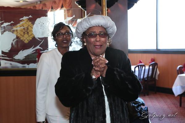 Ozella Lewis 75th Birthday Dinner March 29 2015