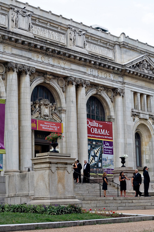 pre-gala VIP reception in the Carnegie Library, next door to the convention center.  September 16, 2009