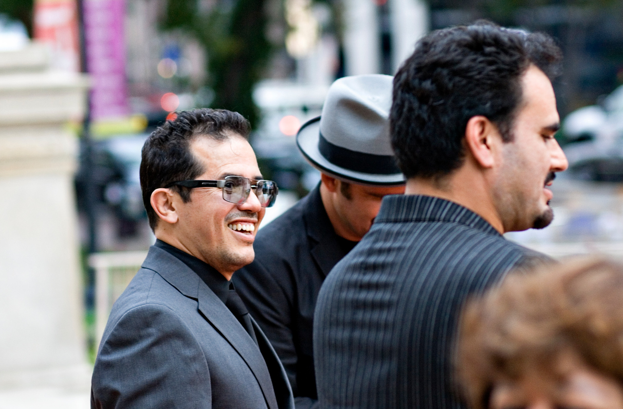 actor John Leguizamo on the red carpet pre-gala VIP reception in the Carnegie Library, next door to the convention center.  September 16, 2009