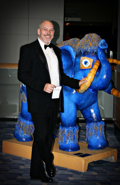 John Matel at the at Hispanic Caucus Gala September 16, 2009