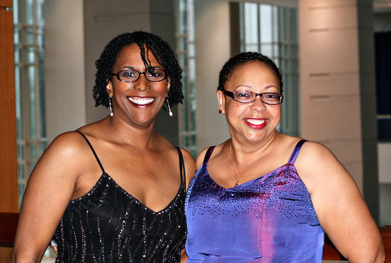 Lynne and Rhonda at the at Hispanic Caucus Gala September 16, 2009