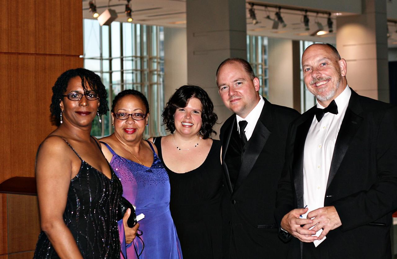 State Dept crew at the at Hispanic Caucus Gala September 16, 2009<br /> Lynne, Rhonda, April, Tim, and John