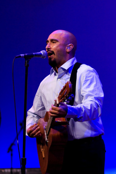 Raul<br /> Ozomatli at the Hispanic Caucus Gala on September 16, 2009